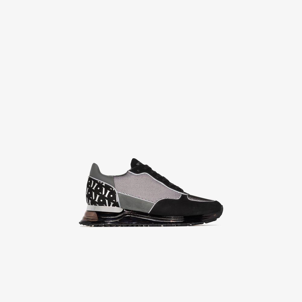 Black Popham Reflect Sneakers