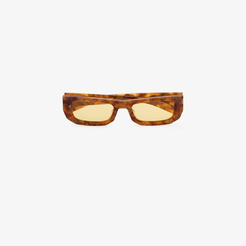 Brown Bricktop Tortoiseshell Sunglasses