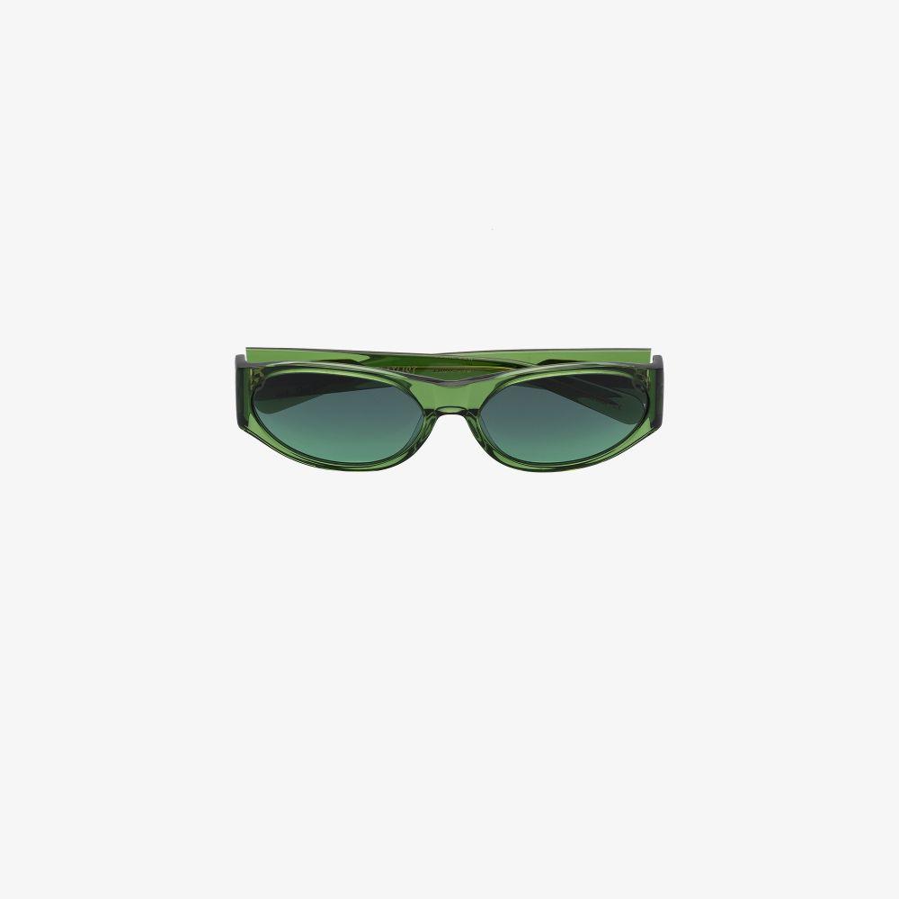 Green Eddie Sunglasses