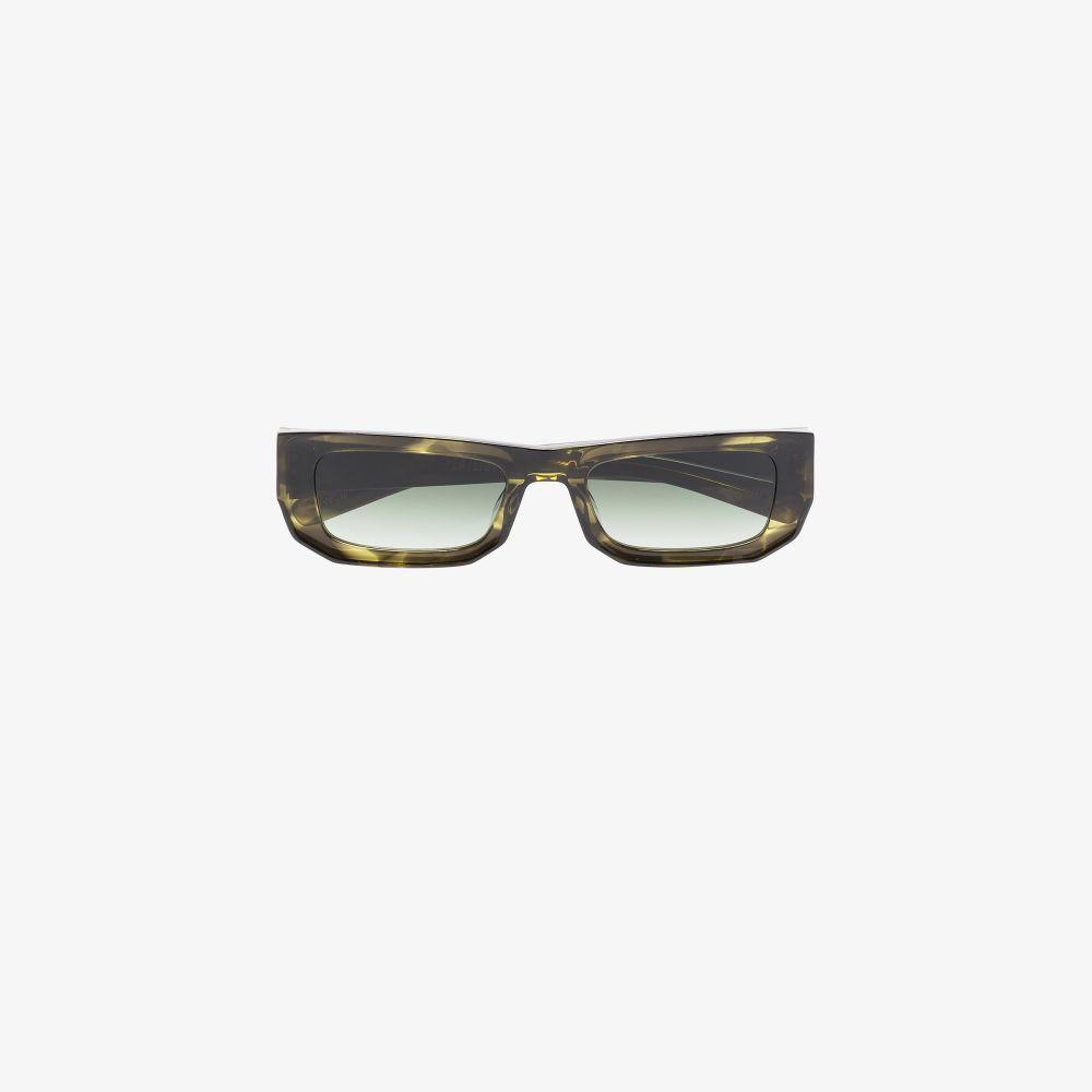 Green Bricktop Sunglasses