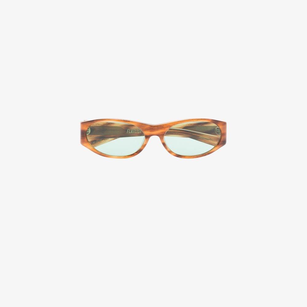 Brown Eddie Kyu Sunglasses