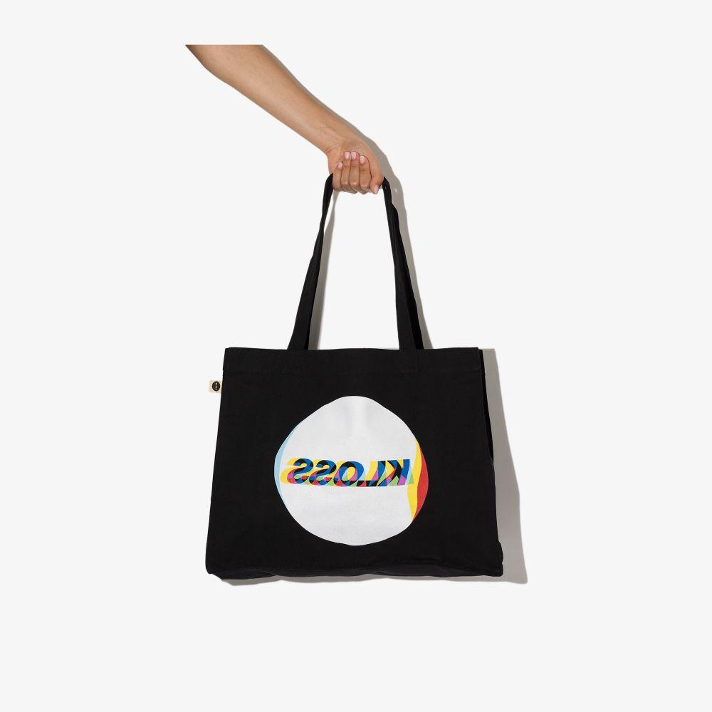 Black Logo Tote Bag
