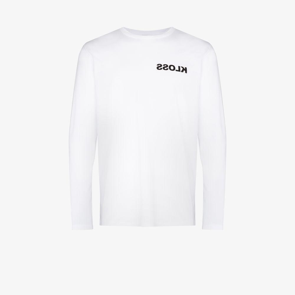 Warped Logo Cotton T-Shirt