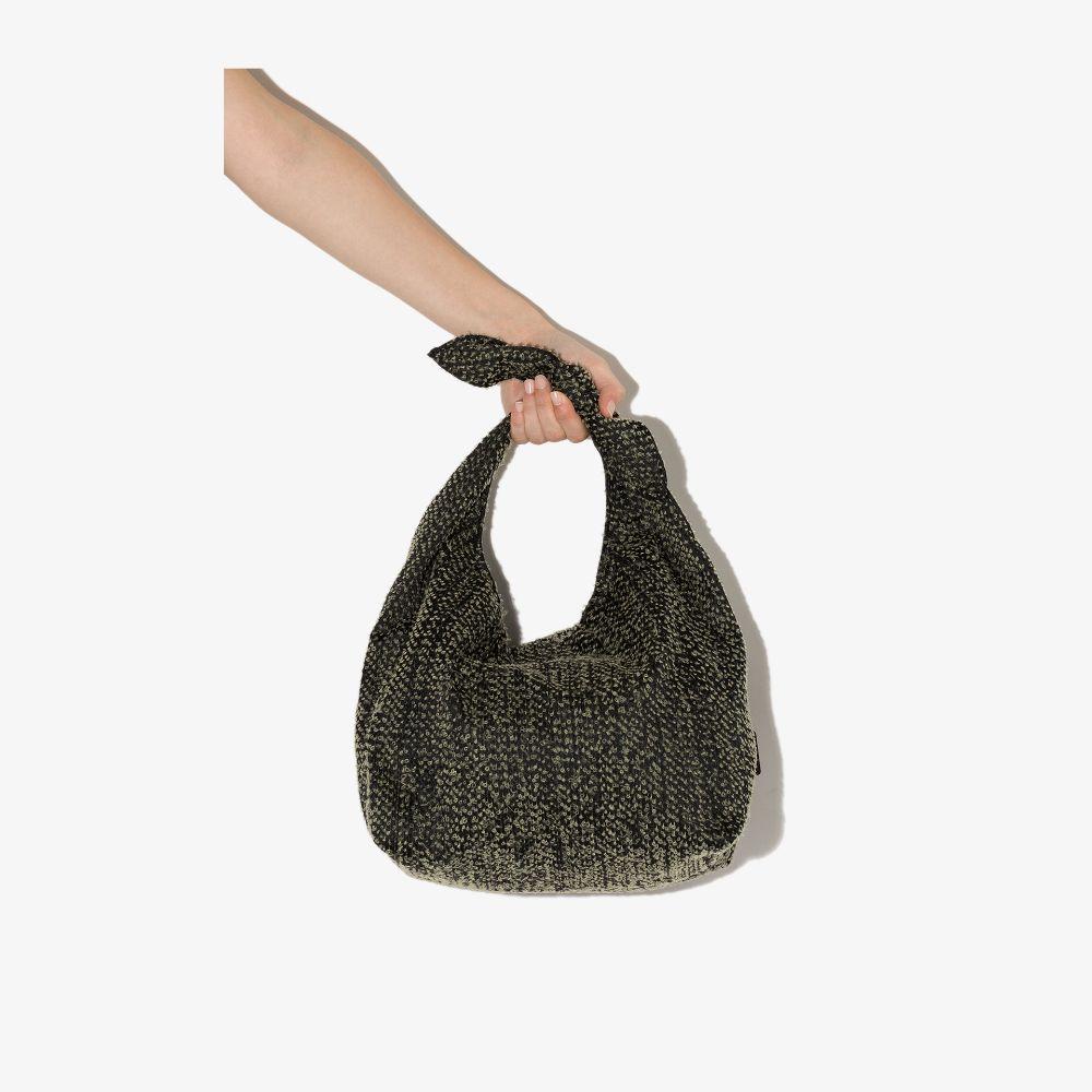 Neutral Needle Punch Furoshiki Tote Bag