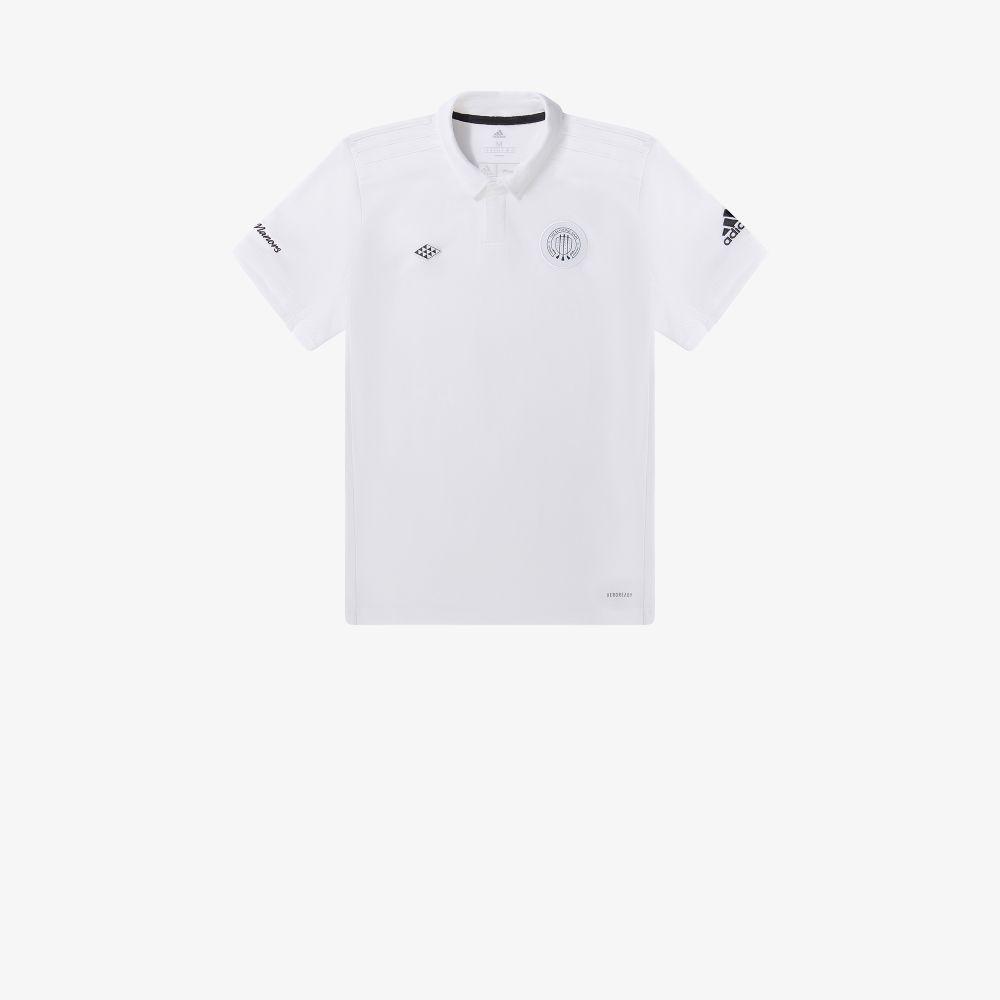 X Adidas Embroidered Logo Polo Shirt