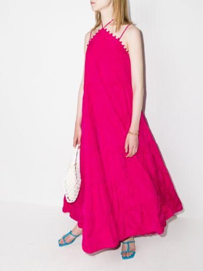 Fulda tiered maxi dress
