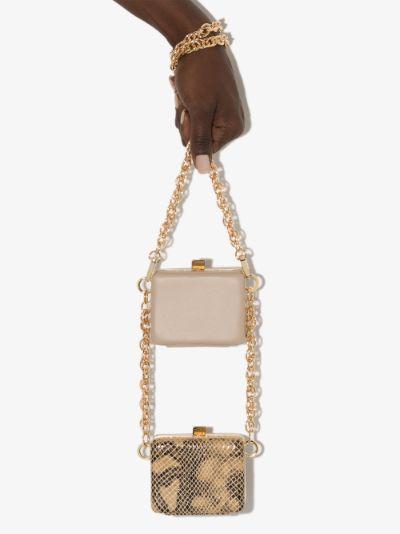 Neutral Ralphie Double mini bag