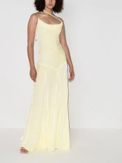 Ottawa velvet maxi dress