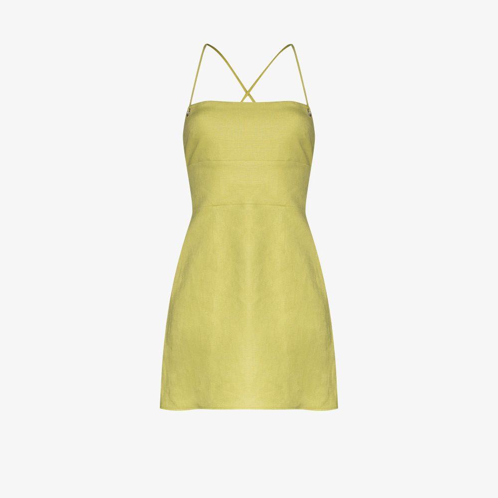 Karsten Linen Mini Dress
