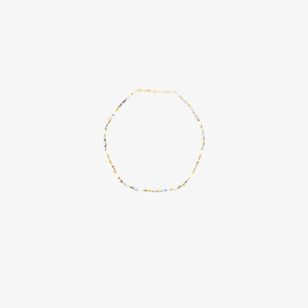Multicoloured Petit Alaia Beaded Necklace