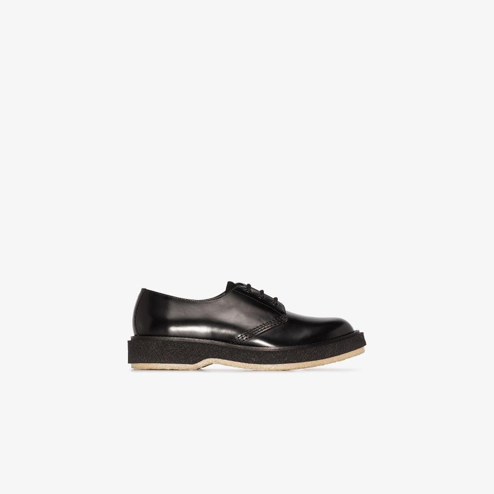 X Études Black Type 130 Leather Derby Shoes