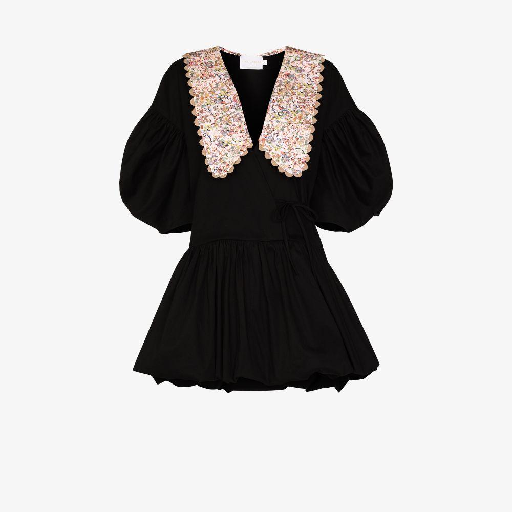 Victoria Large Collar Mini Dress