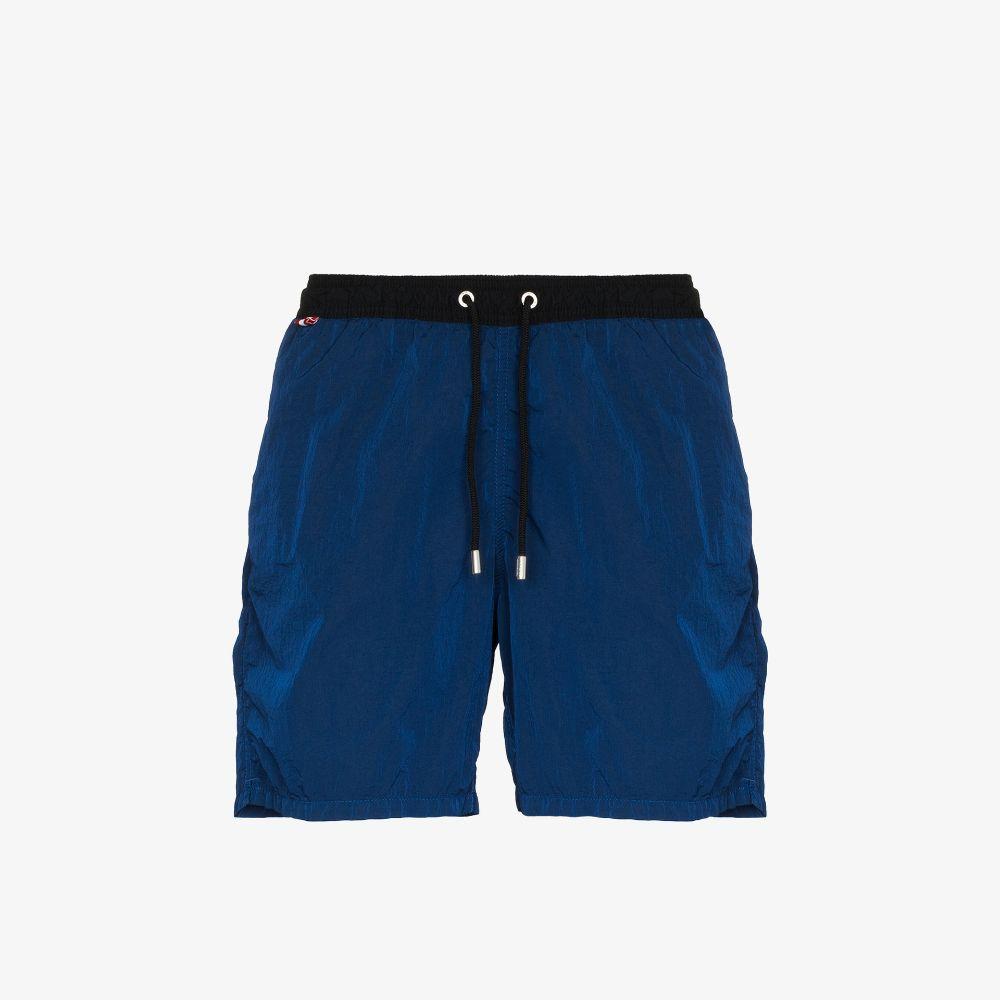 Mc2 Saint Barth Blue Tte Swim Shorts