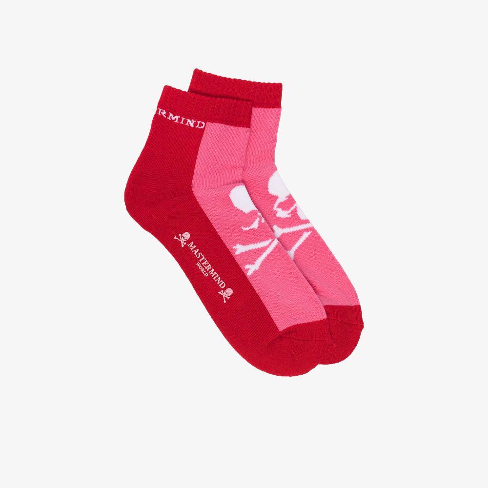 Mastermind Japan Pink Logo Cotton Socks