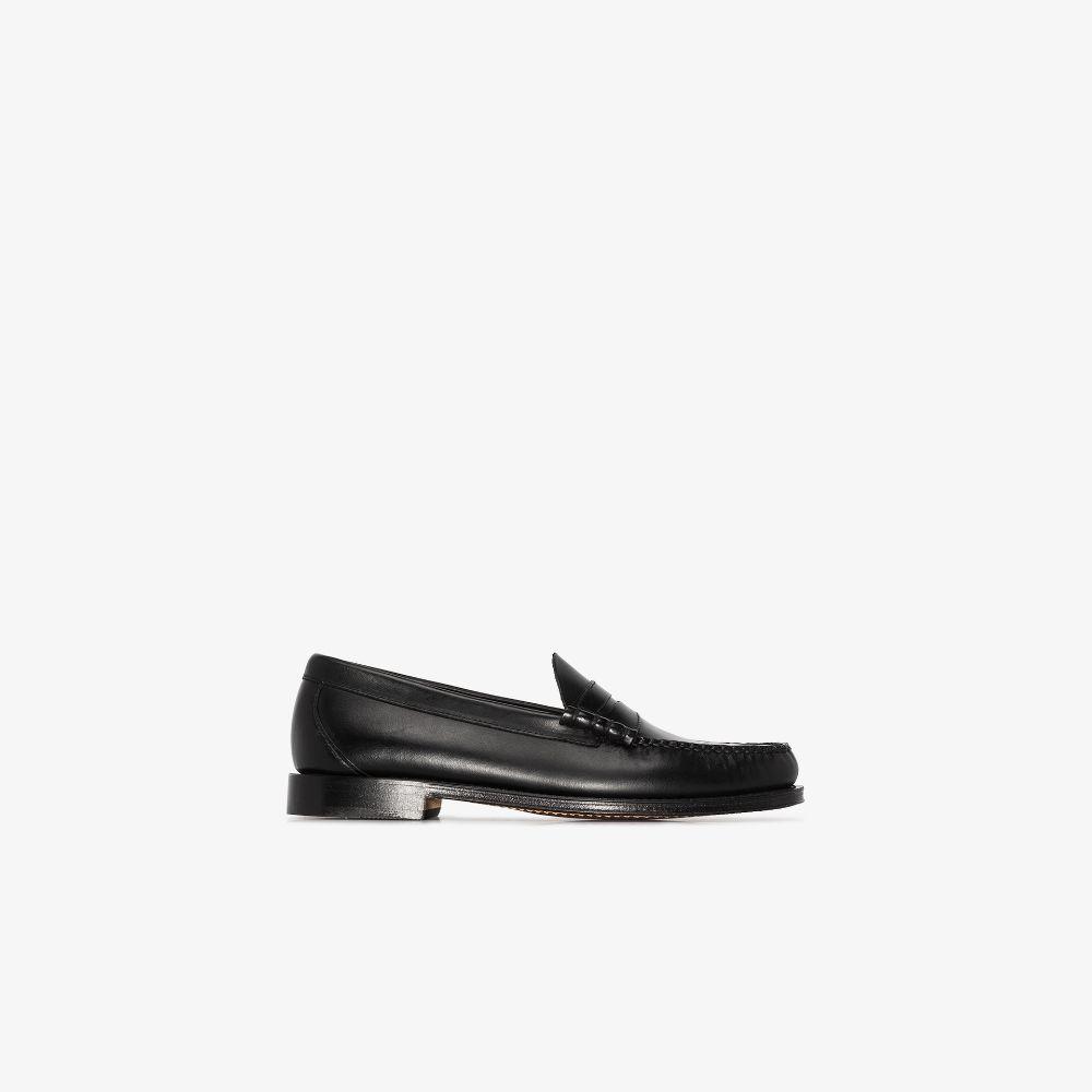 Black Weejuns Heritage Larson Leather Loafers