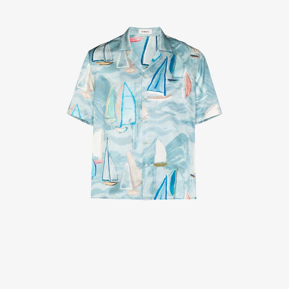 Painted Voyage Camp Collar Shirt