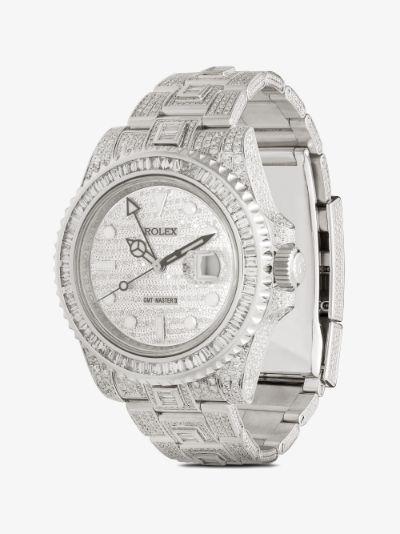 2015 Customised Rolex GMT Master II watch