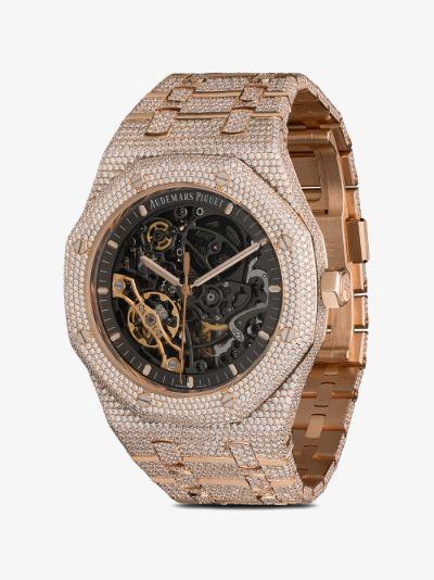 customised Audemars Piguet Royal Oak Skeleton watch