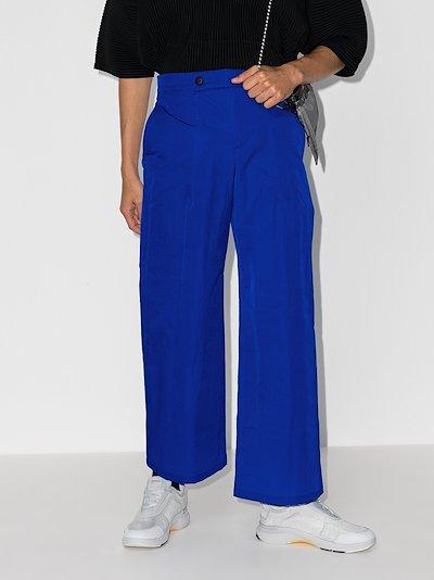 Terrain wide leg trousers