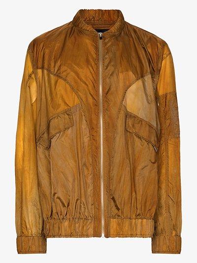 zip-up bomber jacket