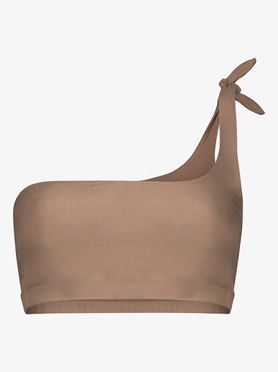 Jones one shoulder bikini top