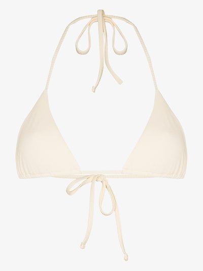 maya triangle bikini top