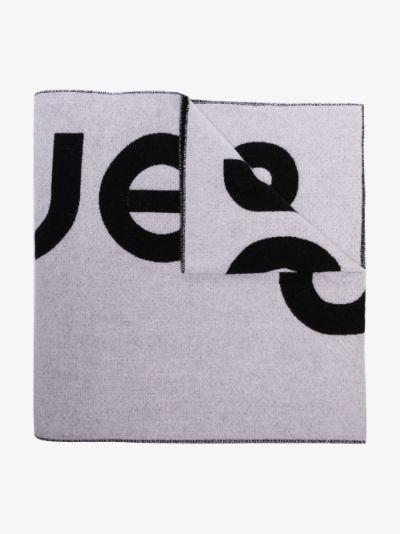 black and white Toronty logo scarf