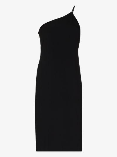 Dakin One Shoulder Midi Dress