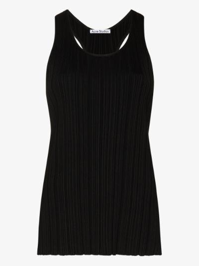 Kleona pleated vest top