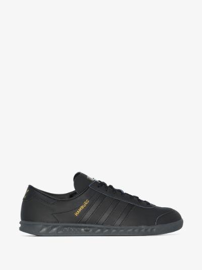 black Hamburg sneakers