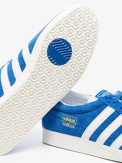 Blue Gazelle Vintage suede sneakers