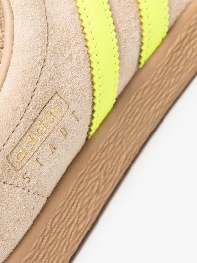 brown stadt suede sneakers