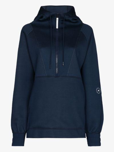 half-zip training sweatshirt