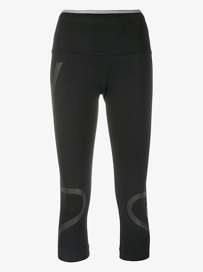 three-quarter length sports leggings
