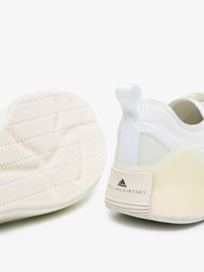 white Treino recycled canvas sneakers