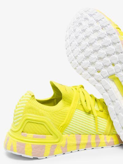 yellow Ultraboost 20 sneakers