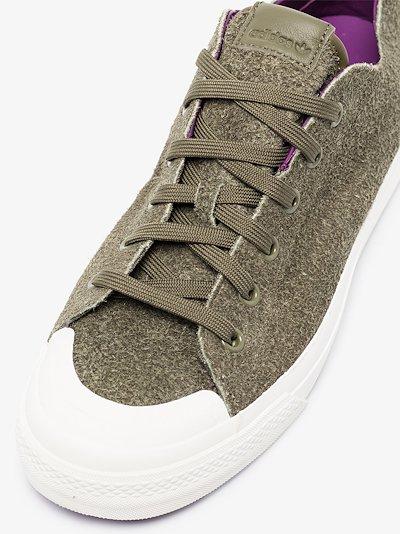 green Nizza 420 RF leather sneakers
