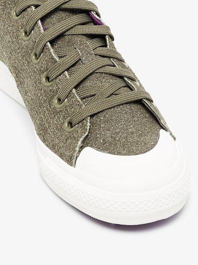 Green Nizza 420 RF sneakers
