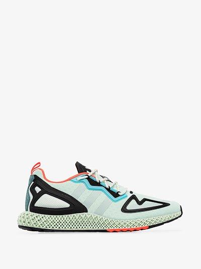 green ZX 2K 4D sneakers
