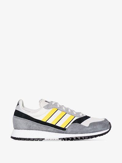grey SPZL Ashurst suede sneakers