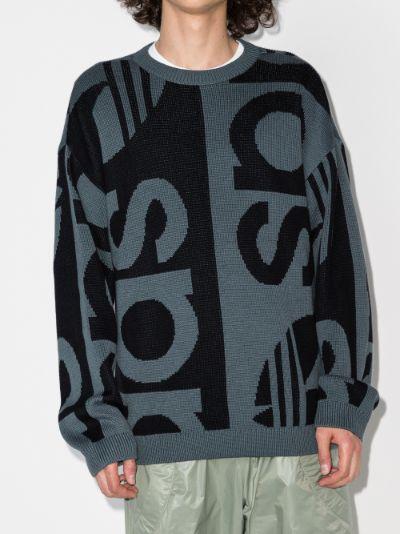 Logo Intarsia Sweater