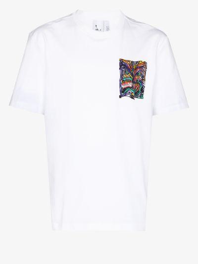Munchman print T-shirt