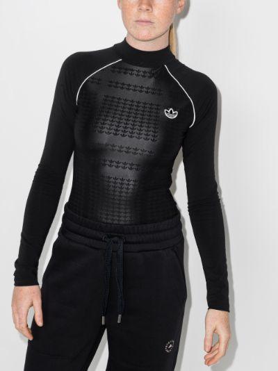 Trefoil logo bodysuit