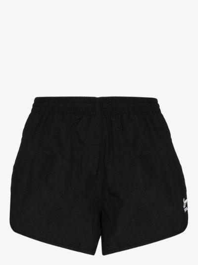 Trefoil logo running shorts