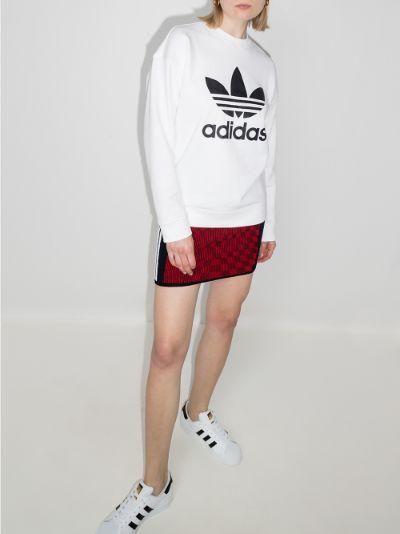 Trefoil logo sweatshirt