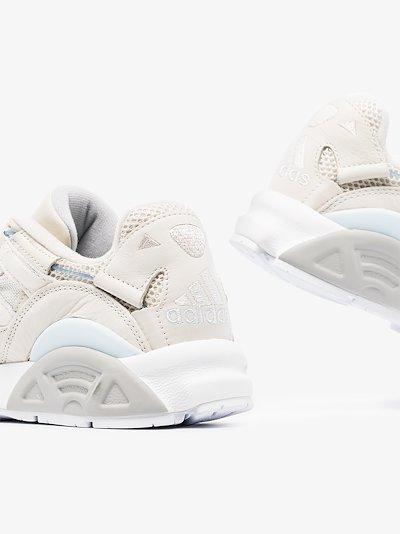 white LXCON 94 low top sneakers