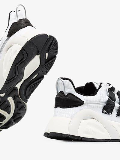 white LXCON low top sneakers