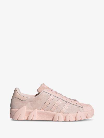 X Angel Chen Pink Superstar 80s Sneakers