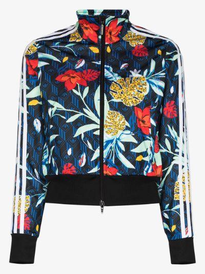 X HER Studio floral track jacket