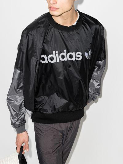 X Human Made logo print sweatshirt
